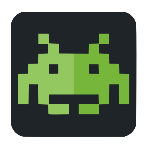 Space, Invaders Icon Free Of Super Flat Remix Apps