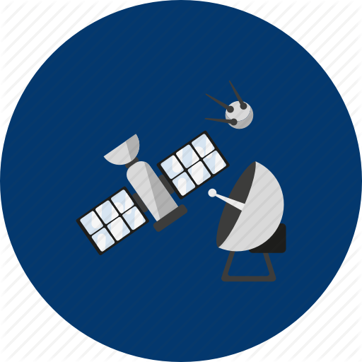 Circle, Concept, Design, Galaxy, Object, Satellite, Space Icon