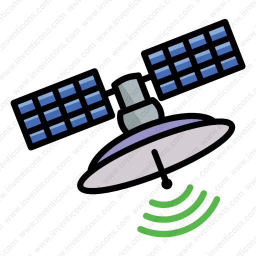 Download Astronomy,satellite,space,craft,ship Icon Inventicons