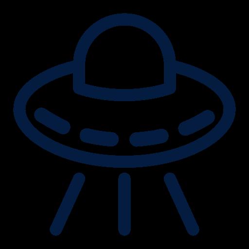 Science, Spaceship, Aliens, Space, Astronaut, Astronomy Icon