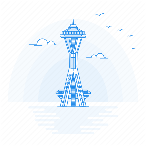 Architecture, Landmark, Monument, Needle, Space Icon