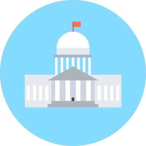 Eeuu Capitol, Capitol, Dome Icon With Png And Vector Format