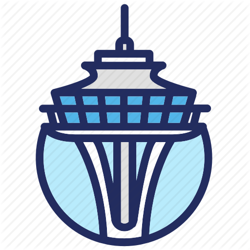 Landmark, Seattle, Space Needle, Usa Icon