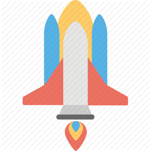 Missile, Rocket, Rocket Launch, Space Lab, Space Shuttle Icon