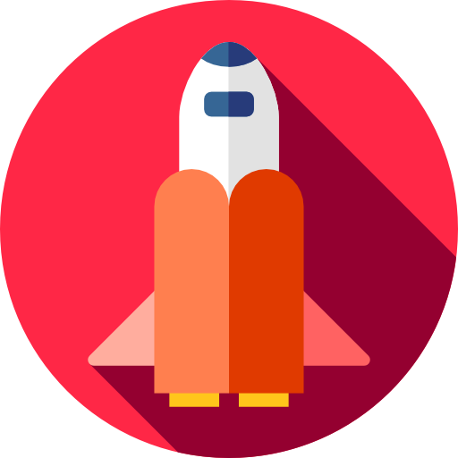 Galaxy, Space Shuttle, Transport, Space, Transportation Icon