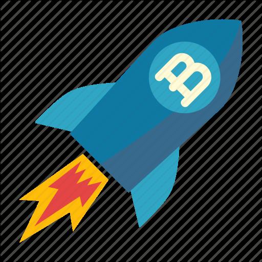 Branding, Development, Rocket, Spaceship Icon
