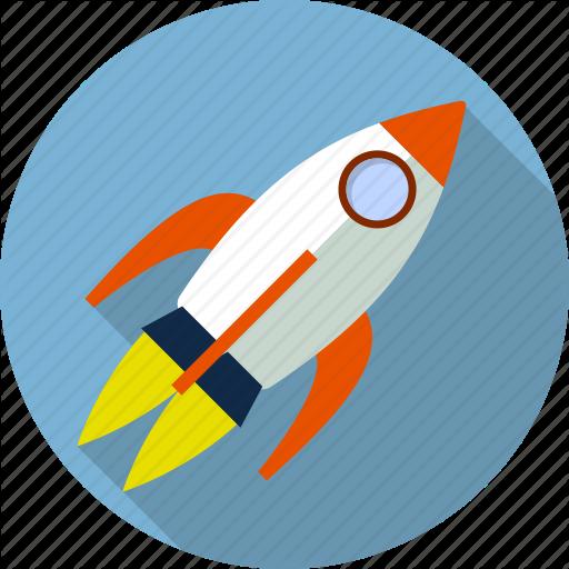 Fly, Launch, Rocket, Ship, Shuttle, Spacecraft, Spaceship Icon