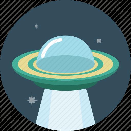 Icon Vector Spaceship