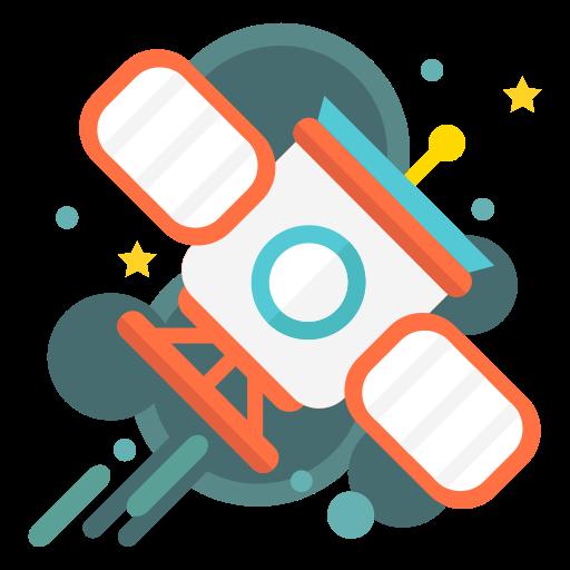 Orbit, Orbital, Satellite, Shuttle, Space, Spaceship Icon Free