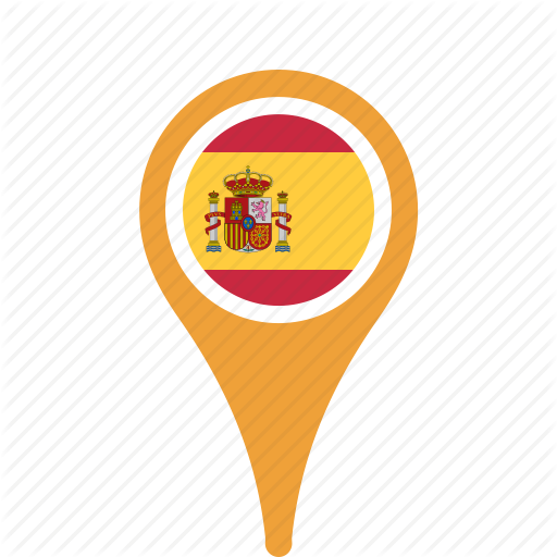 Country, County, Flag, Map, National, Pin, Span