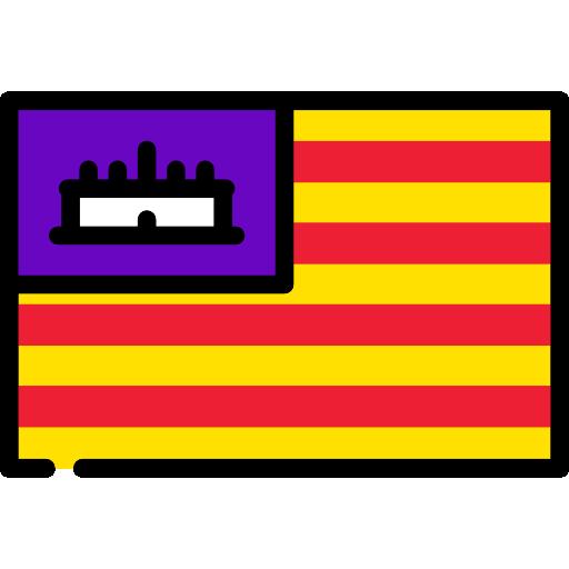Autonomous, Canary Islands, Flag, Spain, Flags Icon