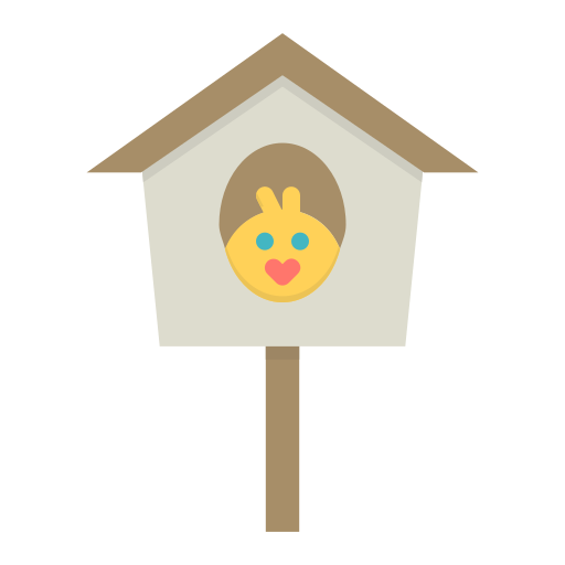 Birdhouse, Chicken, Bird, Sparrow, Spring, Nest Icon Free
