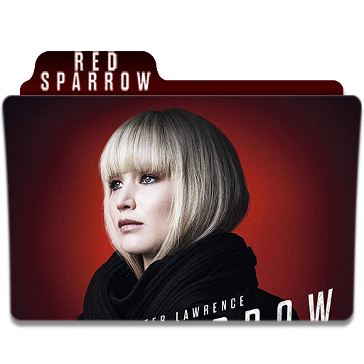 Red Sparrow Folder Icon