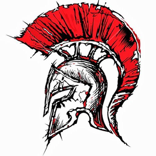 Art Spartan Tattoo, Helmet