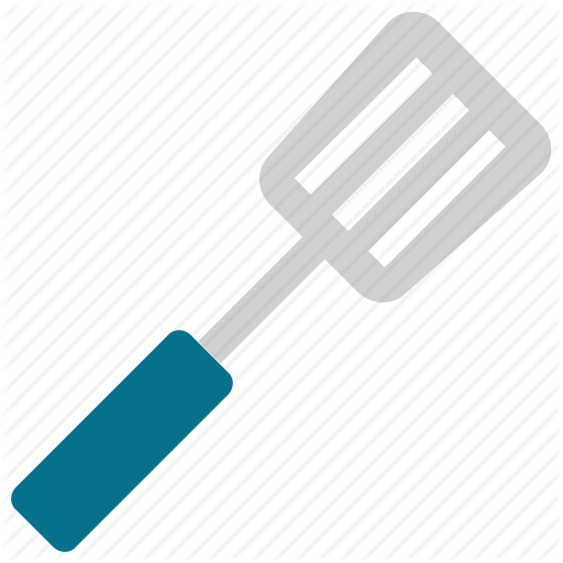 Cooking Spatula, Cooking Tool, Turner, Turning Spatula Icon
