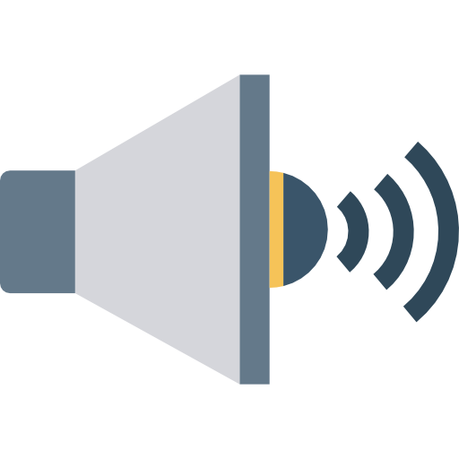 Speaker Icon Network And Communications Dinosoftlabs
