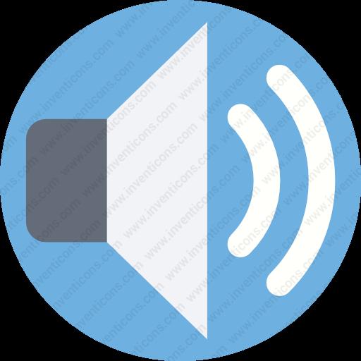 Download Loud,multimeda,sound,audio,speaker Icon Inventicons