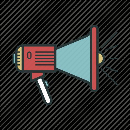 Loudspeaker, Megaphone, Mouthpiece, Speaker Icon