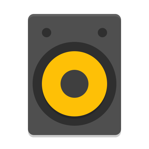 Audio Speakers Icon Papirus Devices Iconset Papirus