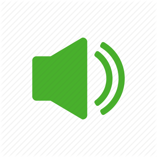 Green, Music, Sound, Sounds, Speaker Icon