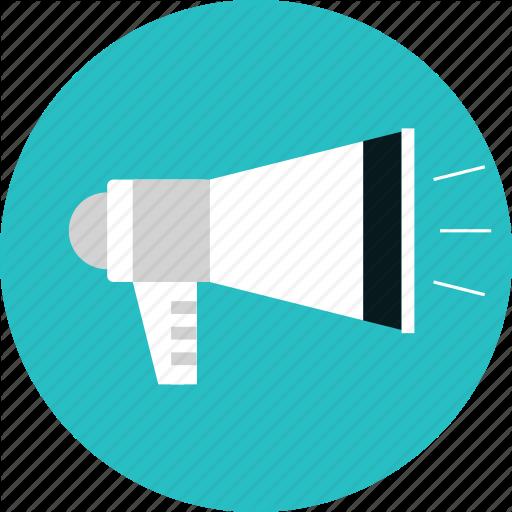 Megaphone, Message, News, Promotion, Speaker Icon