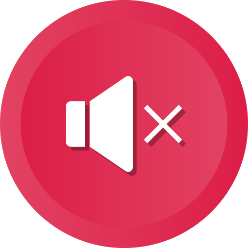 Music, Mute, Sound, Volume, Speaker, Audio, Player Icon Free
