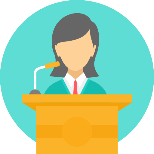Podium Person Speaker Transparent Png Clipart Free Download