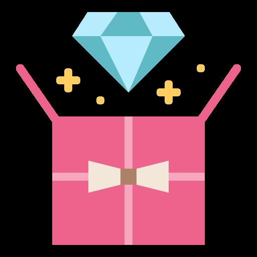 Gift, Diamon, Pesent, Special Icon Free Of Present
