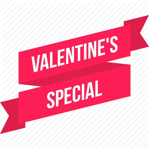 Discount, Offer, Ribbon, Special, Tag, Valentine Icon
