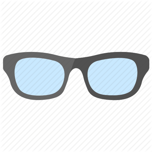 Eyewear, Glasses, Shades, Specs, Sunglasses Icon