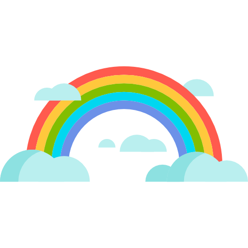 Nature, Spectrum, Atmospheric, Sun, Weather, Rainbow Icon