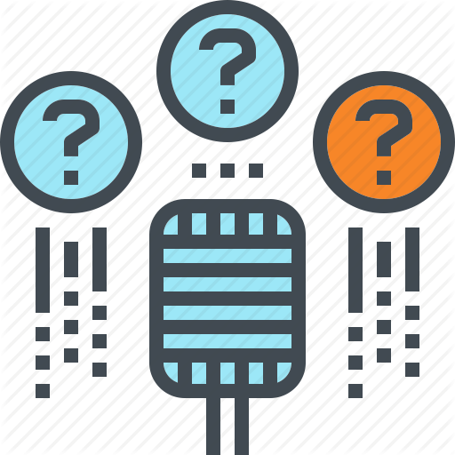 Ask, Mic, Microphone, Question, Speech Icon
