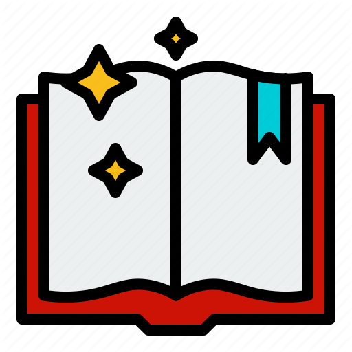Book, Education, Magic, Spell, Spellbook, Witch Icon