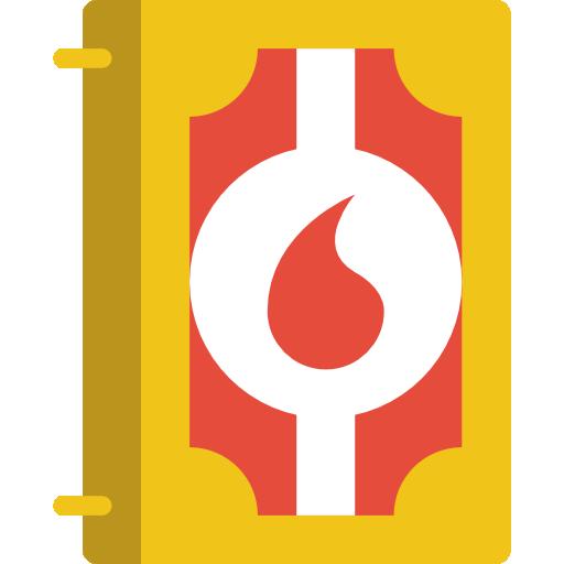 Spellbook Icon Medieval Smashicons