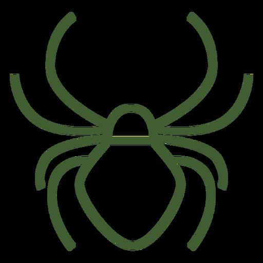 Simple Spider Icon