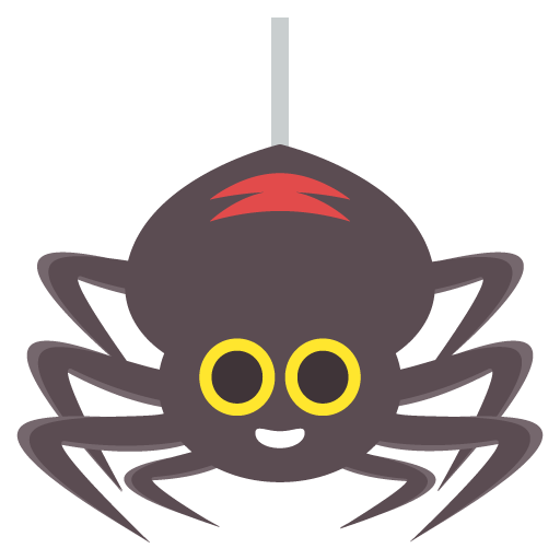 Spider Emoji Vector Icon Free Download Vector Logos Art Graphics