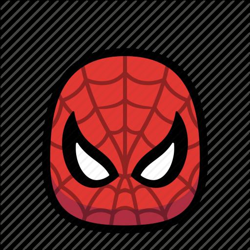 Cartoon, Hero, Spiderman, Spidey, Superhero Icon