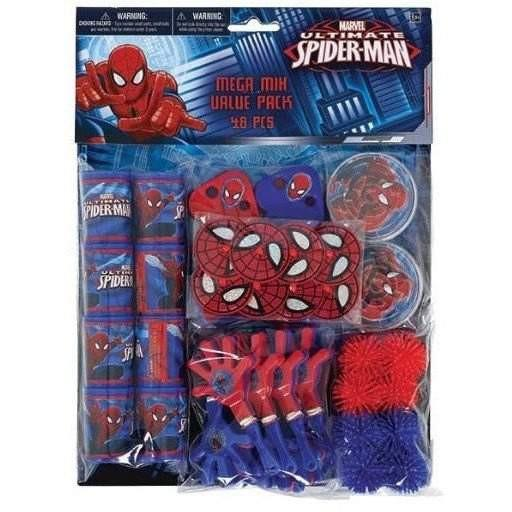 Buy Ultimate Spiderman Birthday Mega Mix Party Pack