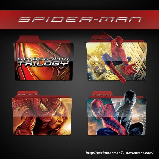 Spider Man Trilogy Movie Icon Pack