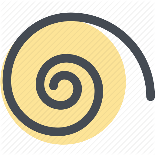 Design, Digital, Round, Shape, Spiral, Spiral Tool, Tool Icon