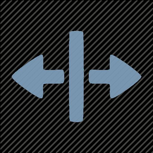 Arrow, Split Icon