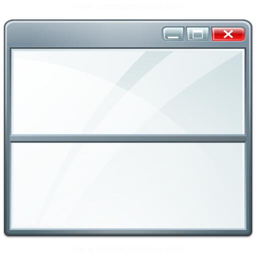 Iconexperience V Collection Window Split Ver Icon