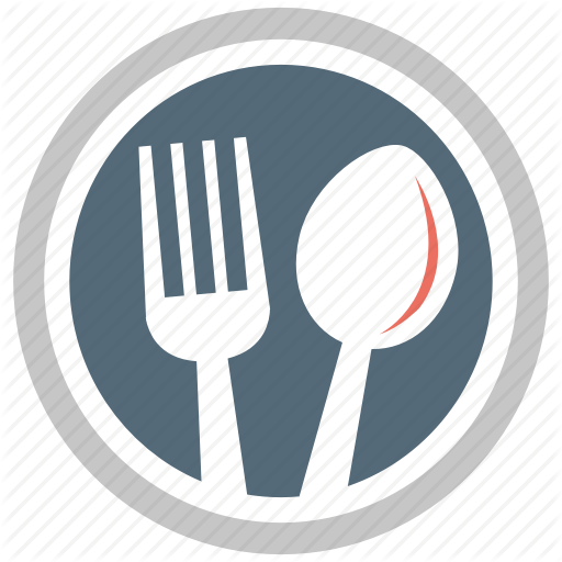 Cutlery, Fork, Fork And Spoon, Plate, Spoon Icon