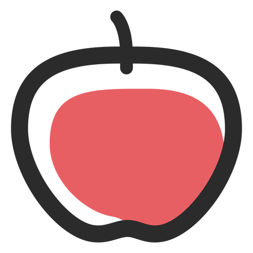 Apple Colored Stroke Icon Sport Icons