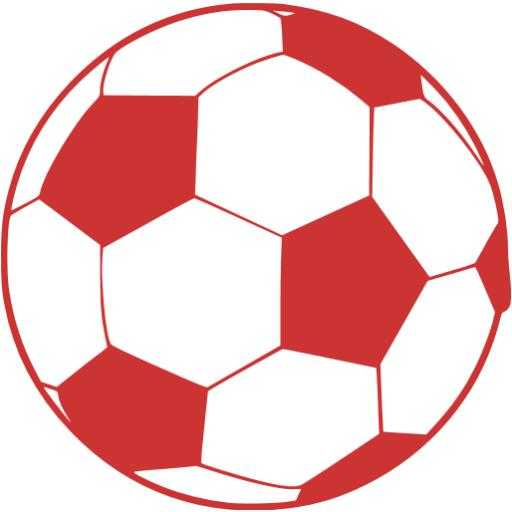 Persian Red Soccer Icon