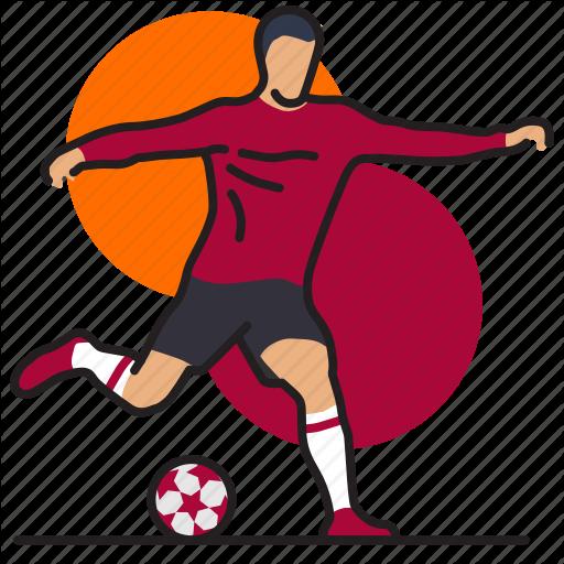 Ball, Football, Game, Goal, Kick, League, Sport Icon