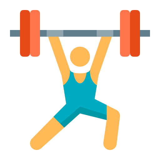 Weightlifting, Sport, Olympic Icon Free Of Freebie Olympic