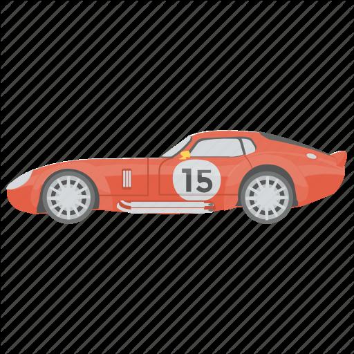 Car, Racing Car, Sports Car, Transport, Vehicle Icon
