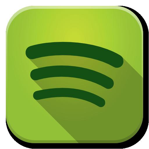 Apps Spotify Icon Flatwoken Iconset Alecive