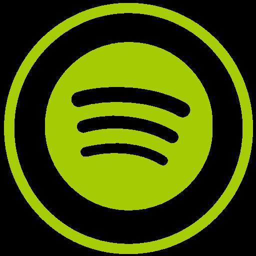 Spotify Icon Free Of Social Icons Circular Color